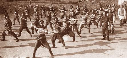 Výcvik Qingské armády, rok 1900